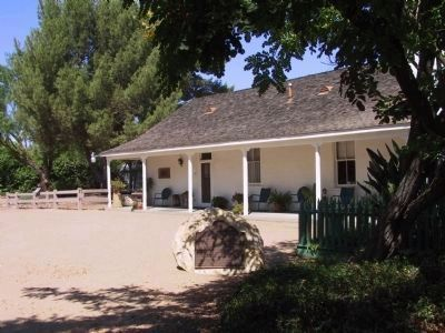 Simi Adobe-Strathearn House and Marker image. Click for full size.