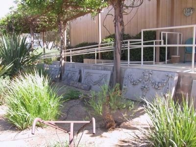 Cement Slabs From Simi High School image. Click for full size.