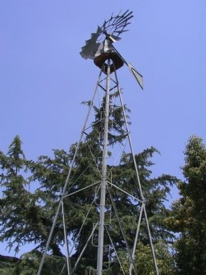 The Frederick G. Exner Memorial Windmill image. Click for full size.