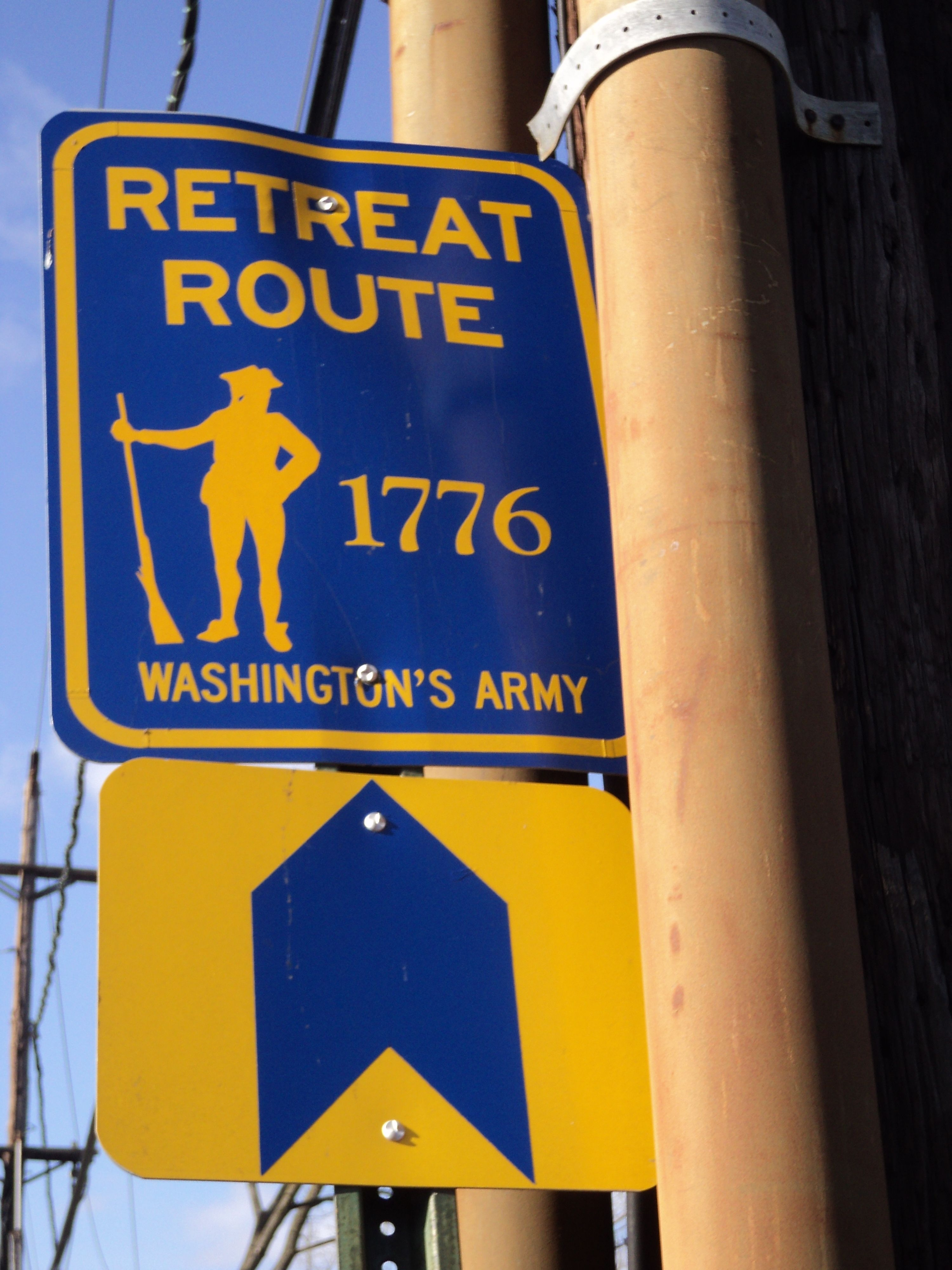Retreat Route Marker
