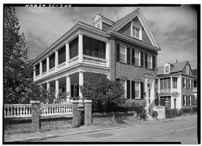 William Pinckney Shingler House , Historic American Engineering Record image. Click for full size.