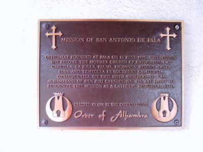 Mission of San Antonio de Pala image. Click for full size.