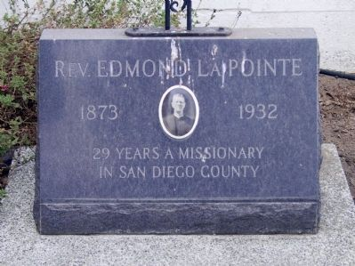 Rev. Edmond LaPoint (1873 - 1932) image. Click for full size.