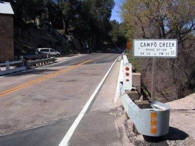 Campo Road (California Route 94) image. Click for full size.