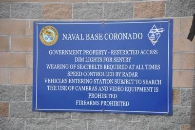 Naval Base Coronado image. Click for full size.