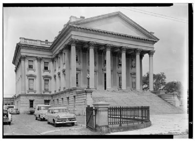 U.S. Custom House, Historic American Engineering Record image. Click for full size.