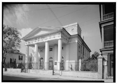 First Baptist Church , 61 Church Street, Historic American Engineering Record image. Click for full size.