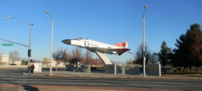 F-4 Phantom II, Boeing Plaza - Aerospace Walk of Honor image. Click for full size.