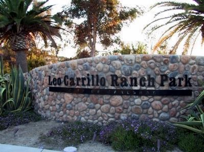 Leo Carrillo Ranch Park image. Click for full size.