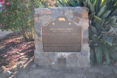 Leo Carrillo Ranch Marker image. Click for full size.