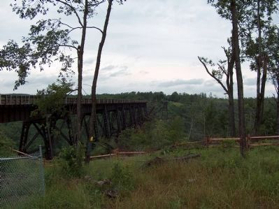 Kinzua Viaduct Bridge image. Click for full size.