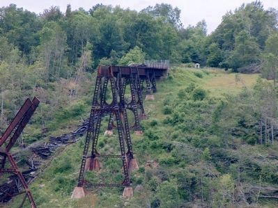Kinzua Viaduct Marker image. Click for full size.