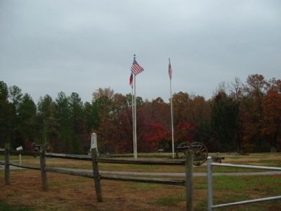 Britton's Lane Battlefield image. Click for full size.