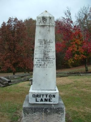 Battle of Britton's Lane image. Click for full size.
