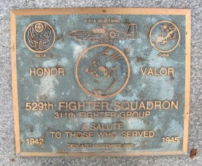 529th Fighter Squadron Marker image. Click for full size.