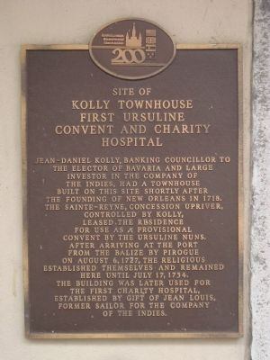 Site of Kolly Townhouse Marker image. Click for full size.
