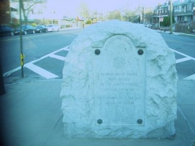 Sheepshead Bay Veterans Memorial Marker image. Click for full size.