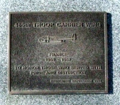 465th Troop Carrier Wing Marker image. Click for full size.
