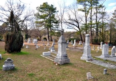 Sandy Springs United Methodist Church Historic Cemetery image. Click for full size.