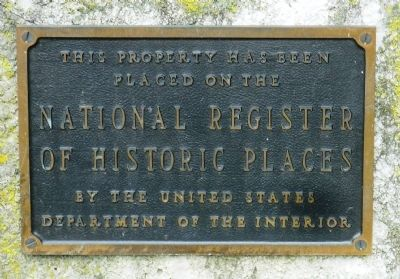 Kneeland-Walker House National Register Marker image. Click for full size.