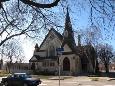 First Baptist Church - Latvian Lutheran Church image. Click for full size.