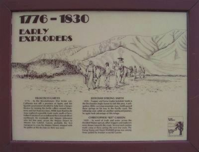 <i>Panel 1:</i> 1776 - 1830: Early Explorers image. Click for full size.