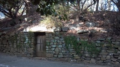 The root cellar door off of the driveway image. Click for full size.