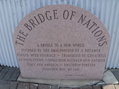 The Bridge of Nations Marker image. Click for full size.