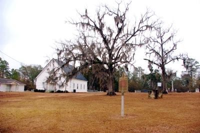 Bethel Primitive Baptist Church and Marker image. Click for full size.
