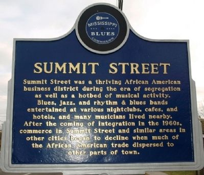Summit Street Marker image. Click for full size.