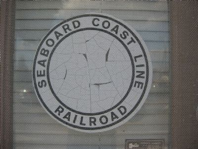 Seaboard Coast Line Railroad Sign image. Click for full size.