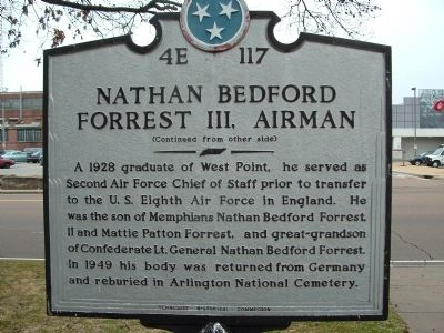 Nathan Bedford Forrest III, Airman Marker image. Click for full size.