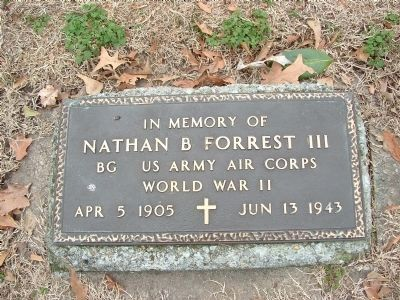In Memory of Nathan Bedford Forrest III image. Click for full size.