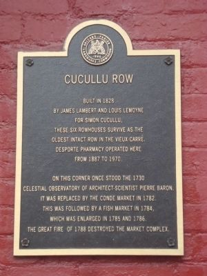 Cucullu Row Marker image. Click for full size.