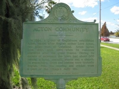 Acton Community Marker image. Click for full size.