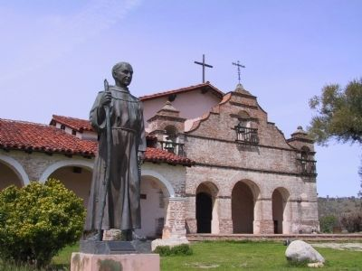 Mission San Antonio de Padua image. Click for full size.