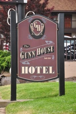 The Gunn House Hotel image. Click for full size.