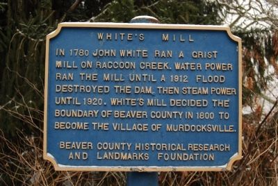 White's Mill Marker image. Click for full size.