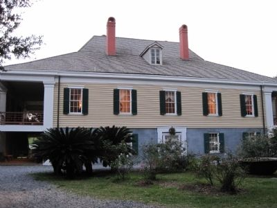 Destrehan Manor House - the back image. Click for full size.