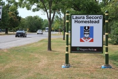 Home of Laura Ingersoll Secord Marker image. Click for full size.