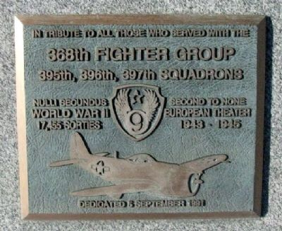 368th Fighter Group Marker image. Click for full size.