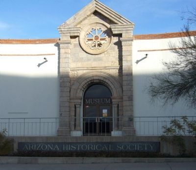 Arizona Historical Society Museum image. Click for full size.