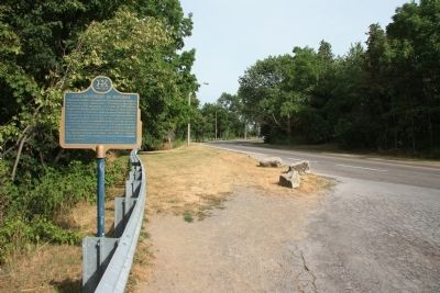 The Niagara Escarpment Marker image. Click for full size.