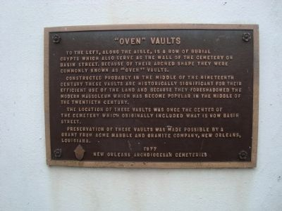 """Oven"" Vaults Marker image. Click for full size."
