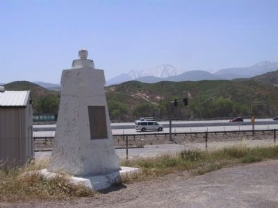 Santa Fe and Salt Lake Trail Marker image. Click for full size.