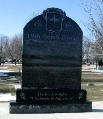 19th Bomb Group Memorial (Side B) image. Click for full size.