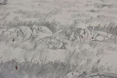 They Fought to the Last Marker (Close-up of Image on Marker) image. Click for full size.