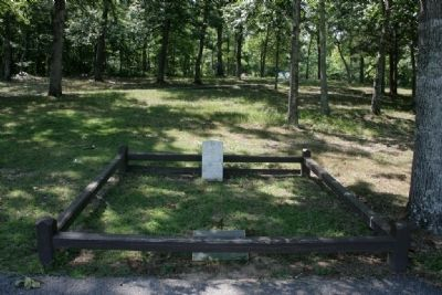 Major Lemuel P. Montgomery Marker and Burial Site image. Click for full size.