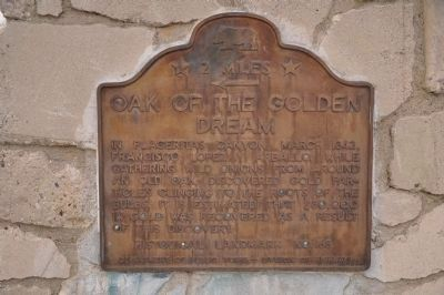 Oak of the Golden Dream Marker image. Click for full size.