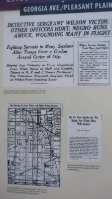 Armed Resistance Marker - close-up of documents on obverse, upper left image. Click for full size.